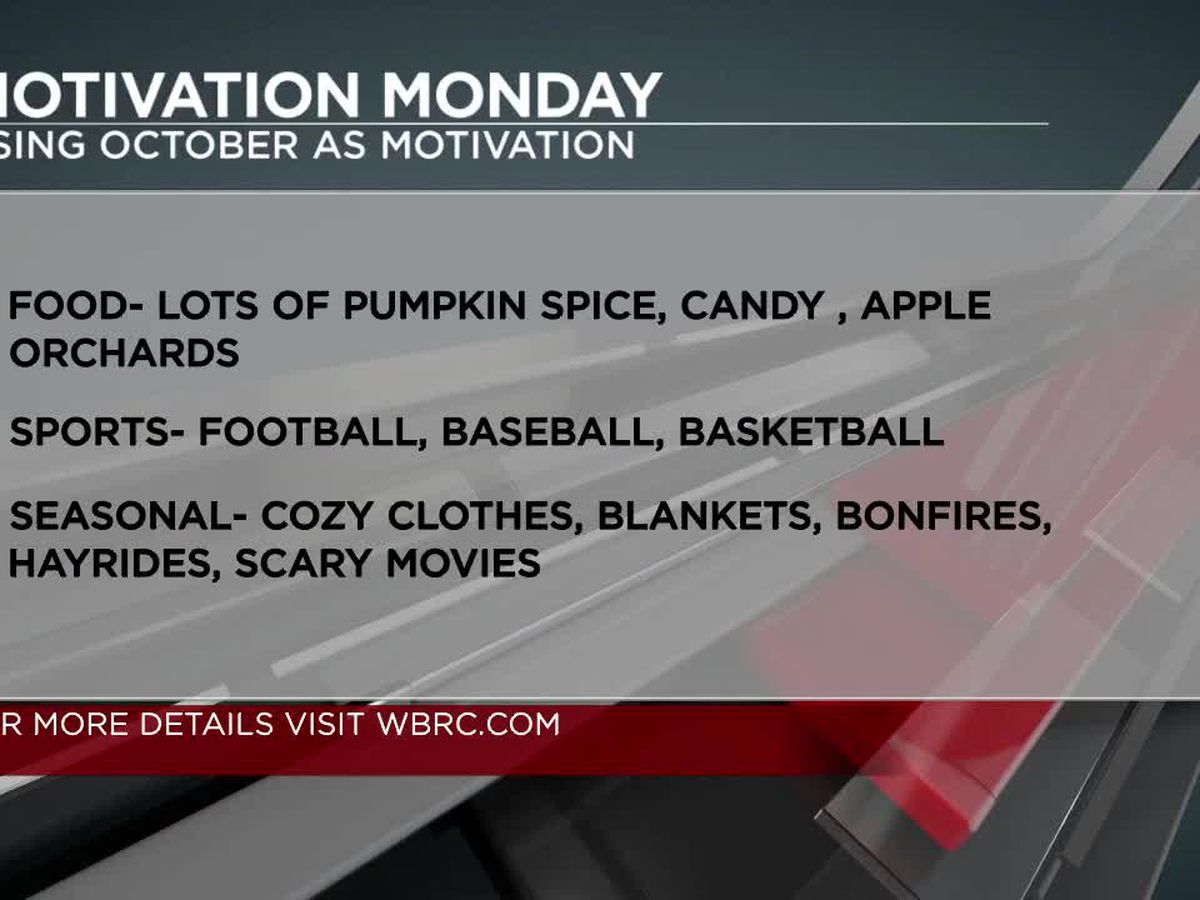 How to use October as motivation