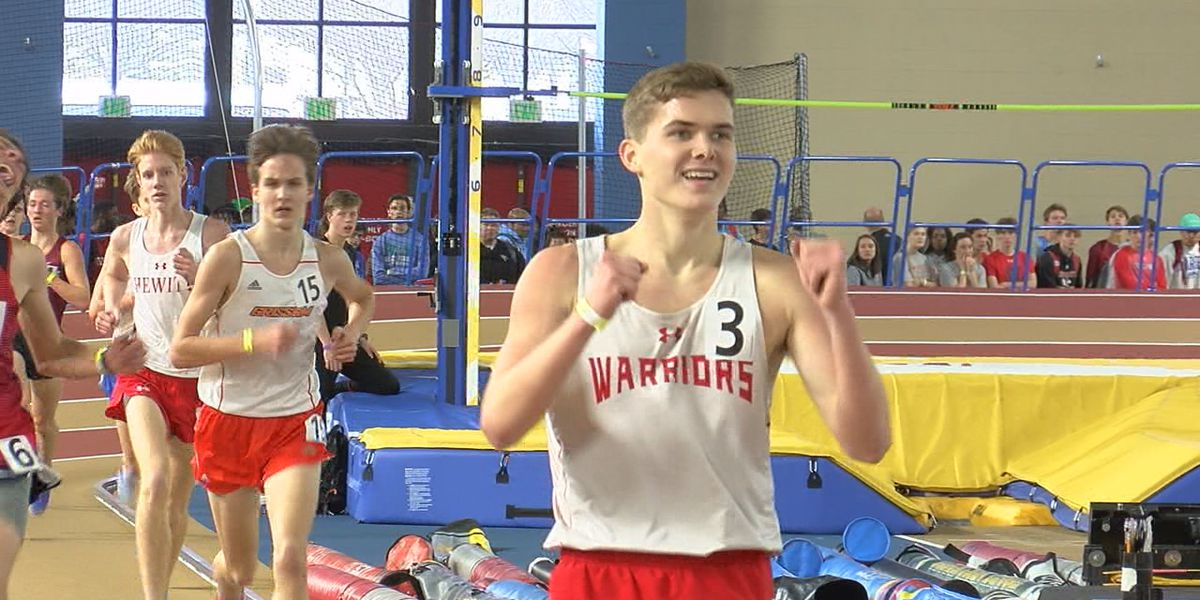 Thompson's Jace Jones breaks 7A State Record in 3200 meter run
