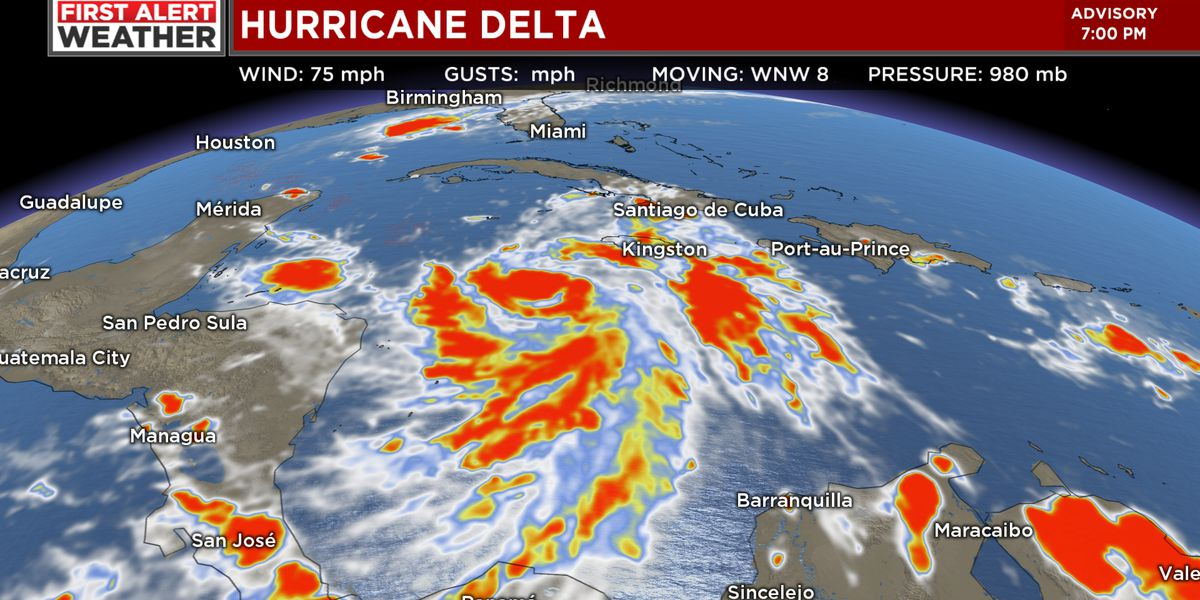 FIRST ALERT: Delta becomes a hurricane, expected to impact Gulf Coast