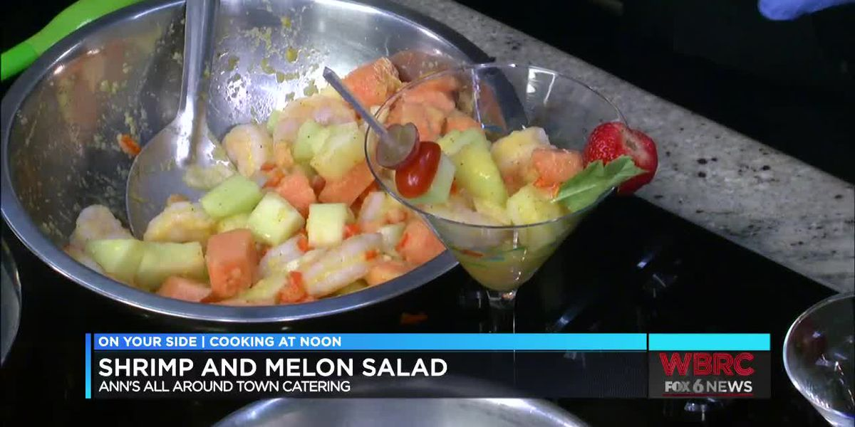 AAATC: Shrimp and melon salad