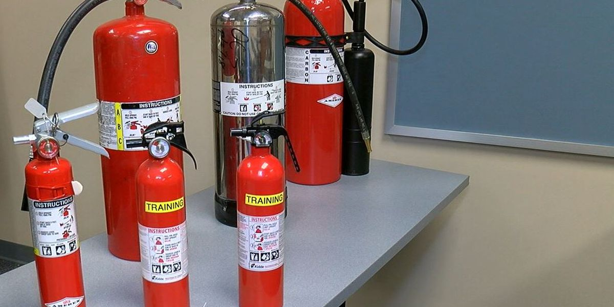 Fire extinguishers could help contain holiday fires