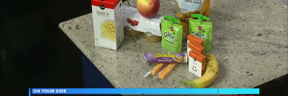 Back-to-school snacks: Healthy choices