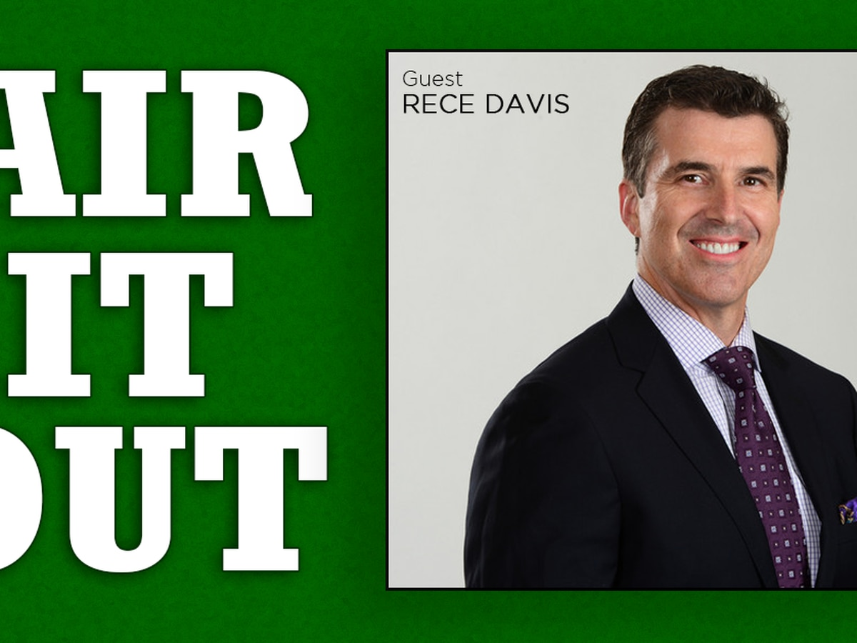 Rece Davis: GameDay is 'the best job in television'