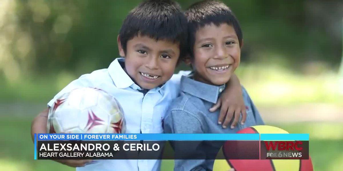 Heart Gallery Alabama: Alexsandro & Cerilo