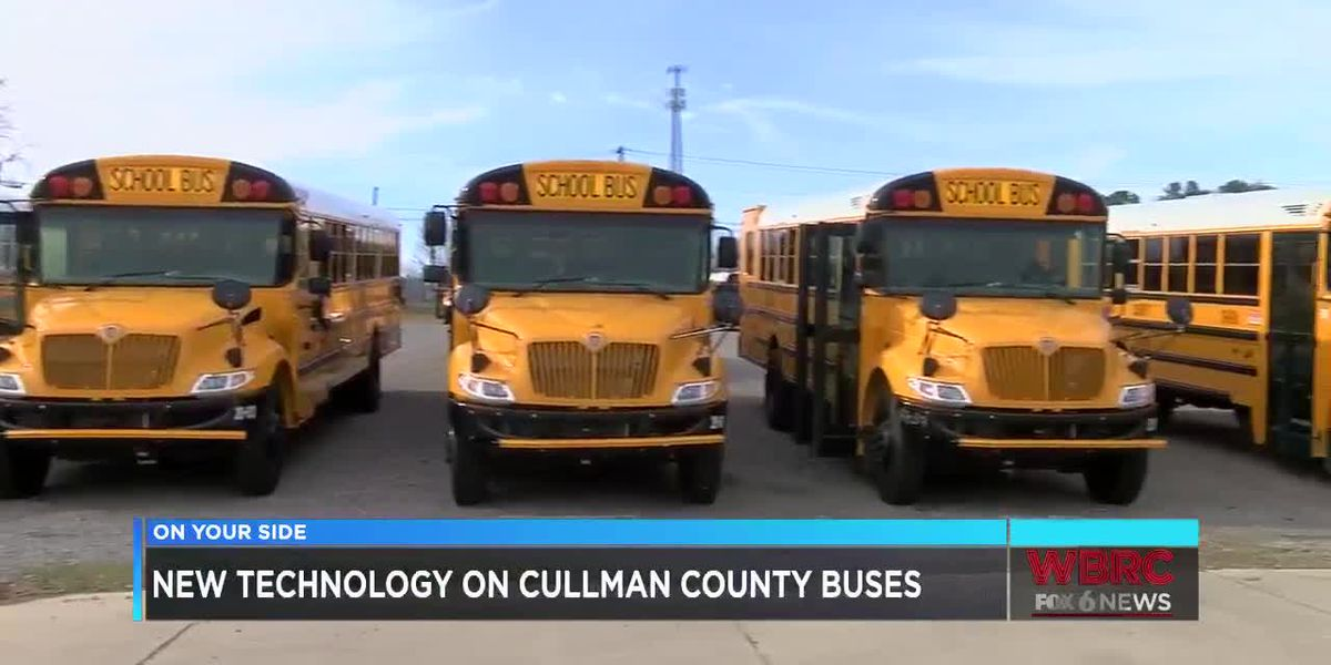 New tech for school buses