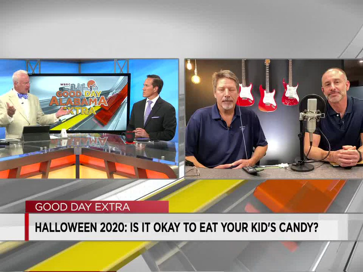 Kurre and Klapow: Is it okay to eat your kids' candy?
