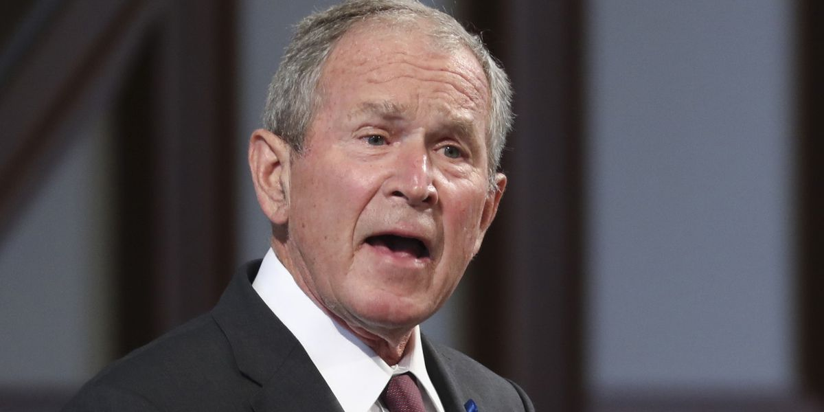 Bush criticizes GOP isolationism, anti-immigration rhetoric