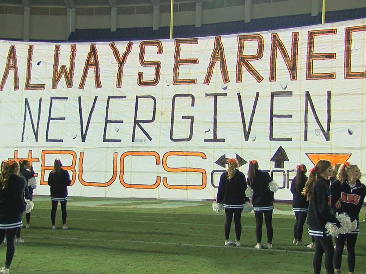 Hoover High's run-out banner becomes gameday favorite
