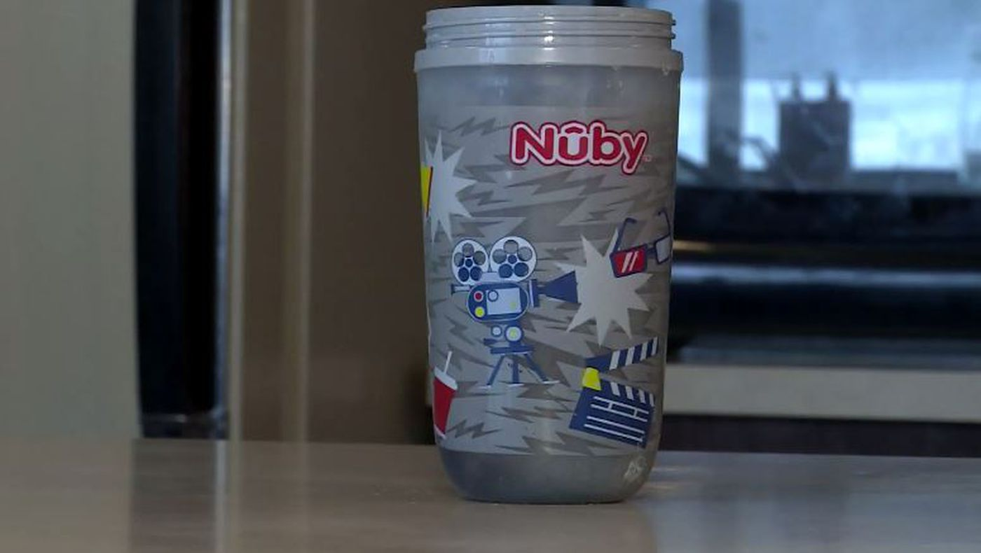 Mother burned when sippy cup exploded in her face, she says