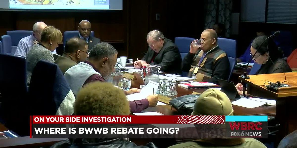 Where is BWWB rebate going?