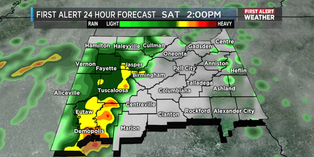 FIRST ALERT: Thunderstorms likely tomorrow