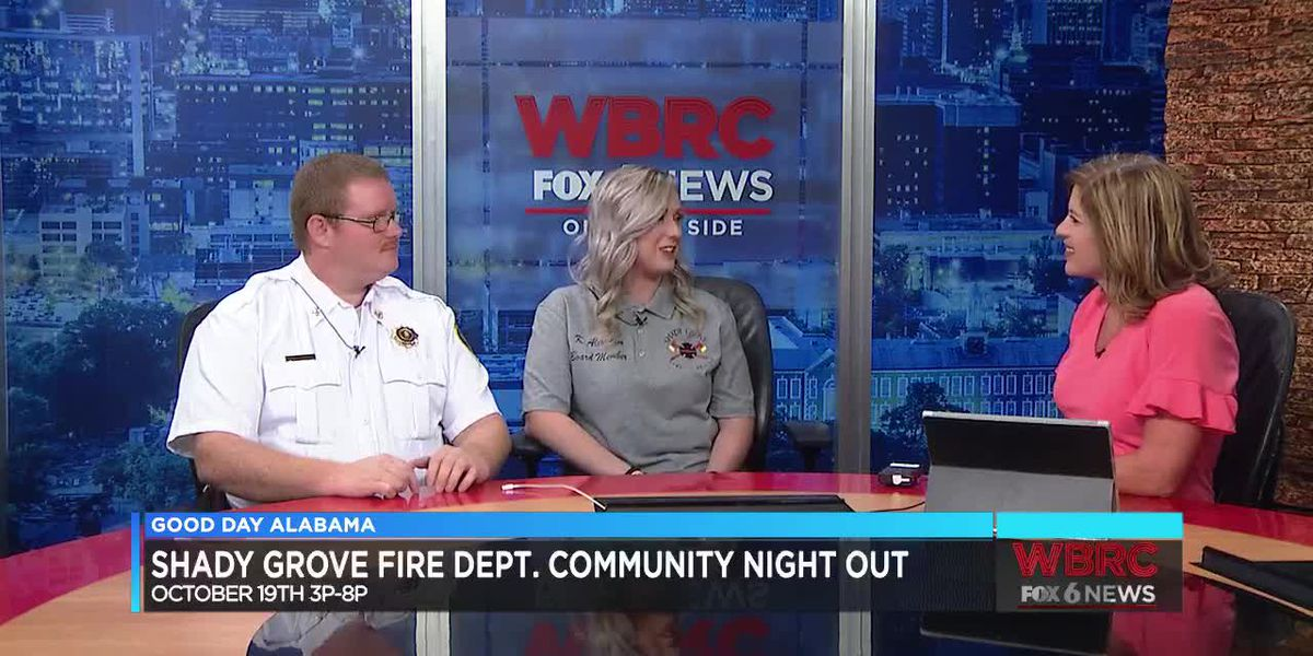 Shady Grove Fire Dept. Community Night Out