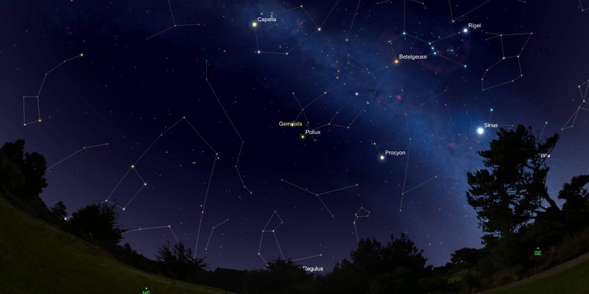 Skywatchers will have a lot to see this month, like the upcoming Geminid Meteor Shower