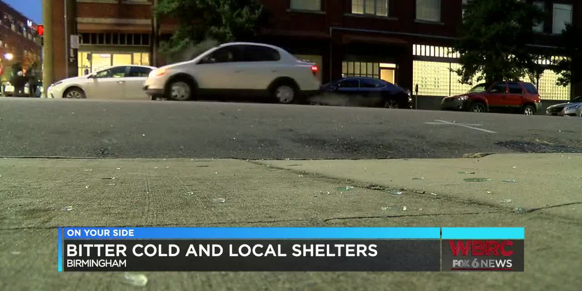 Bitter cold and local shelters