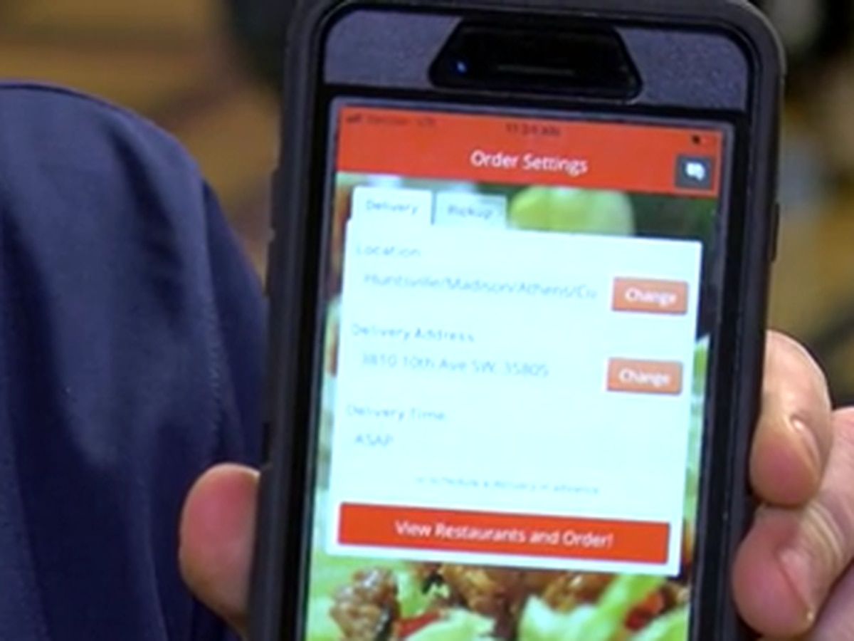 B'ham area ordering food out in new way