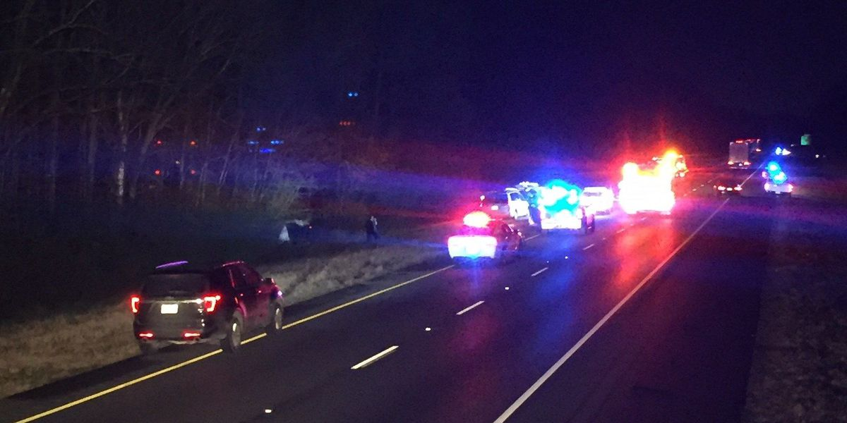 1 person killed in early morning crash on I-65 SB in Shelby Co.