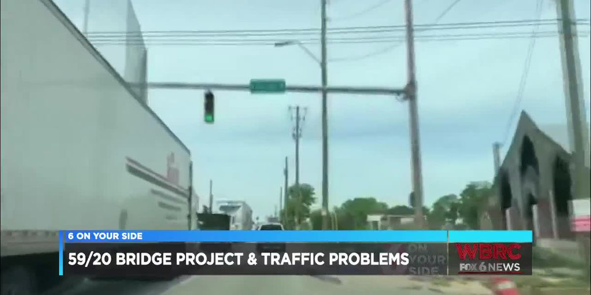 I-59/20 bridge project and traffic problems