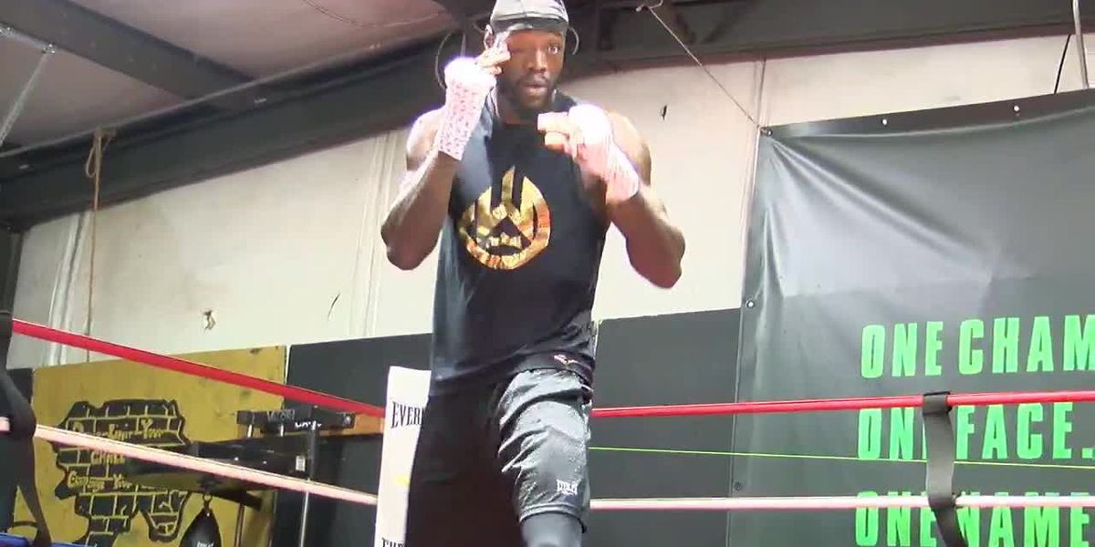 WBC Heavyweight Champ Deontay Wilder talks the good talk before Fury rematch