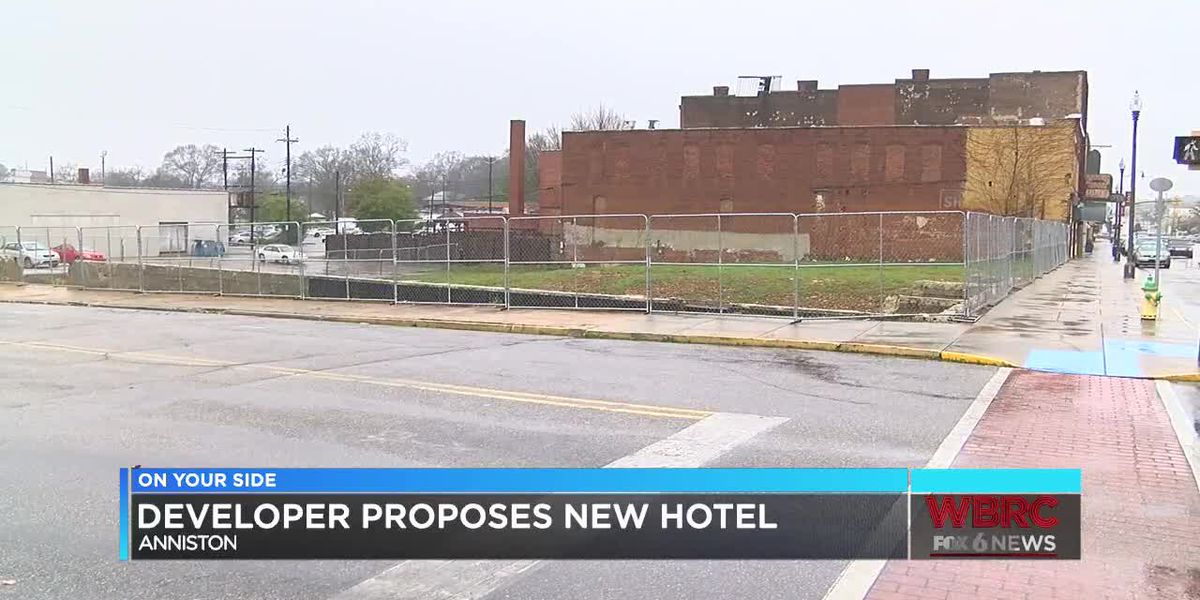 Retired NFL player wants to build hotel in downtown Anniston