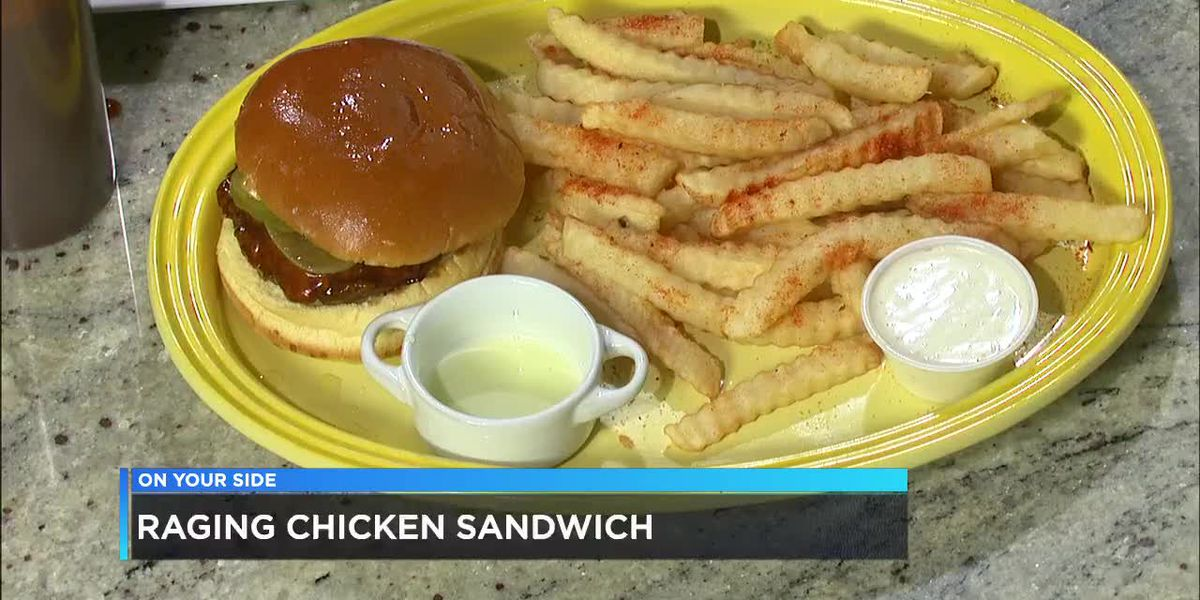 Frozen Rooster: Raging chicken sandwich