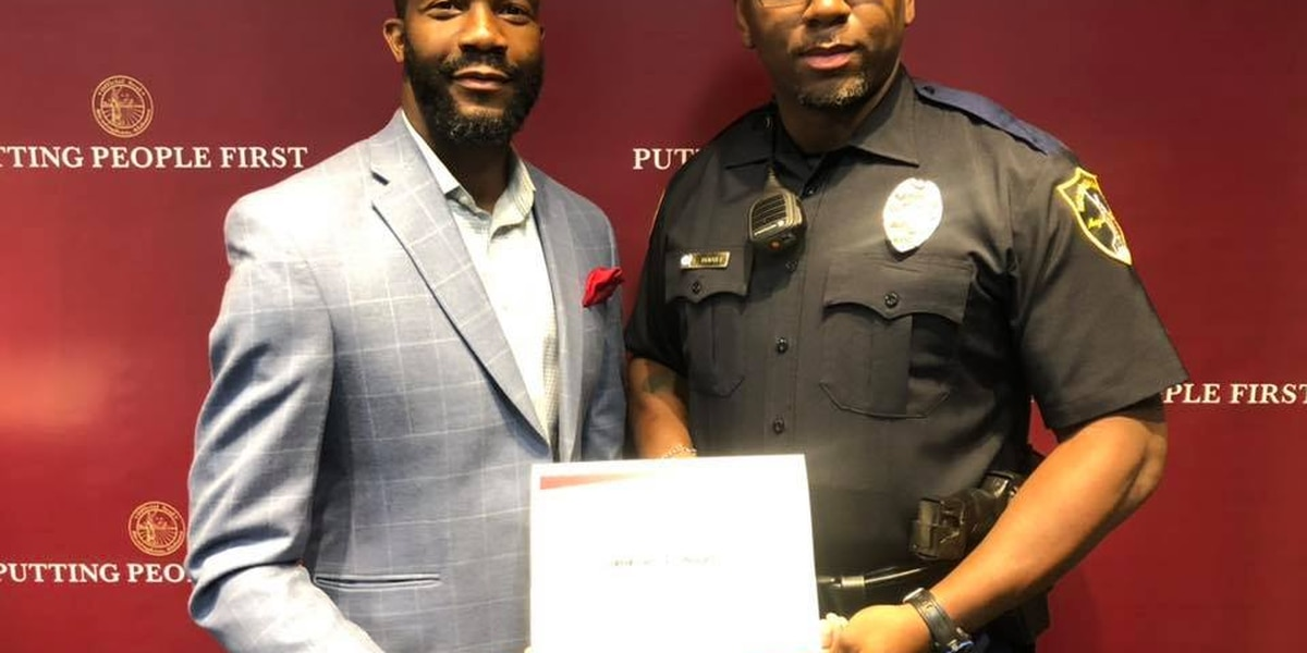 B'ham officer recognized for kind moment