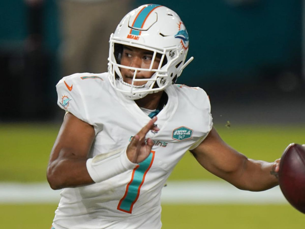 Former Saint Louis quarterback Tua Tagovailoa makes NFL debut in Miami Dolphins' shutout win