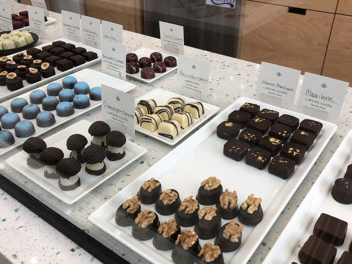 Birmingham chocolate shop ready for Valentine's Day