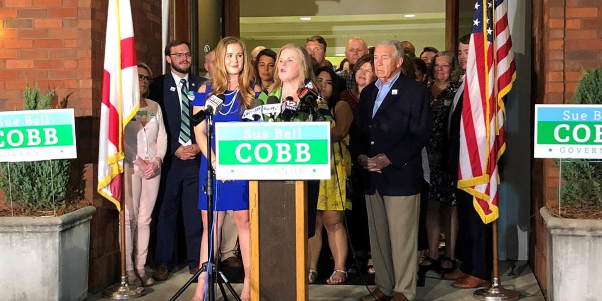 Sue Bell Cobb concedes to Maddox in Dem. primary