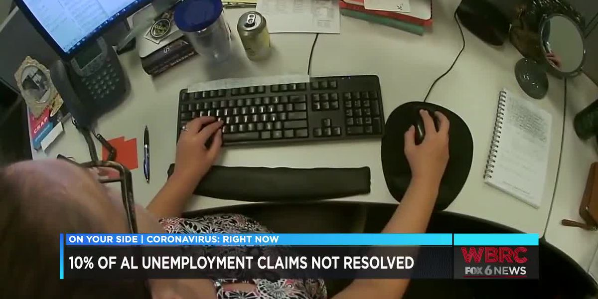 10% of Ala. unemployment claims not resolved