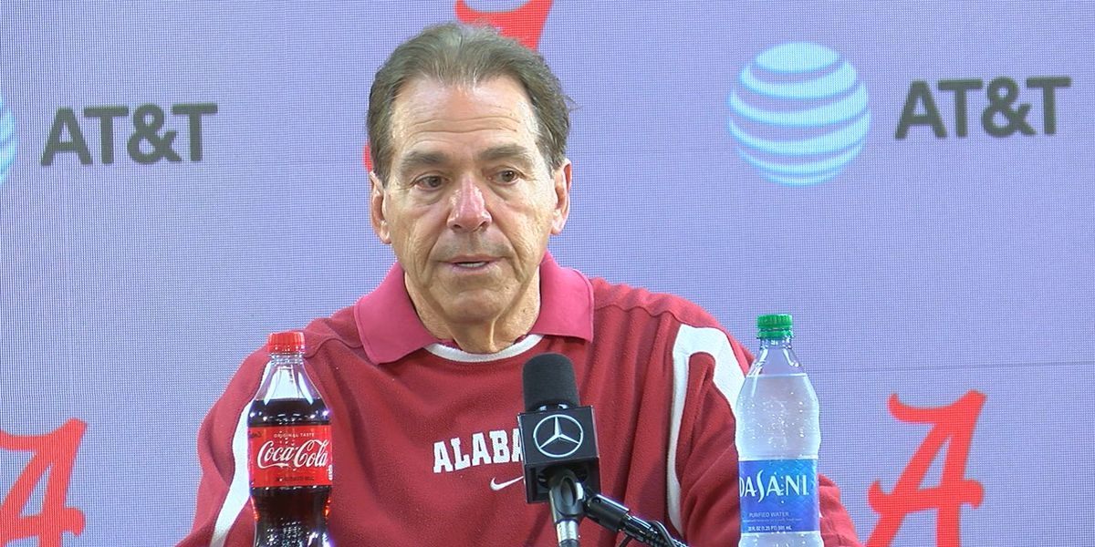 Nick Saban on injured QB Tua Tagovailoa: 'I'm not going to play the guy if he can't move'