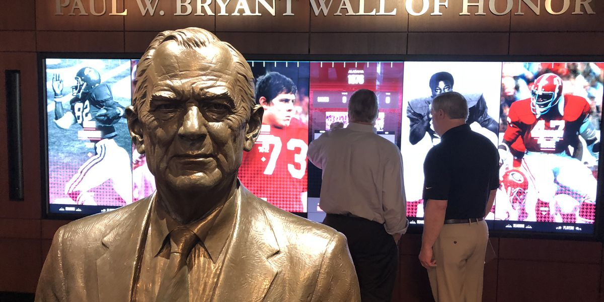 New touch video screen highlights Paul W. Bryant Museum Upgrades