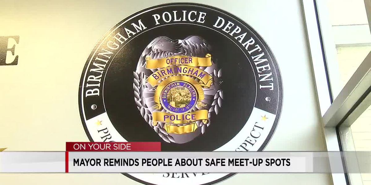 Mayor Woodfin reminds people about safe meet-up spots for internet sales