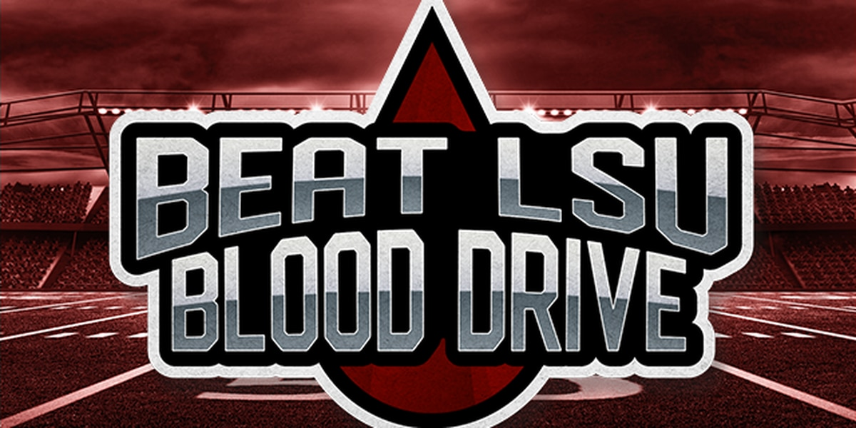 Beat LSU Blood Drive kicks off Nov. 2