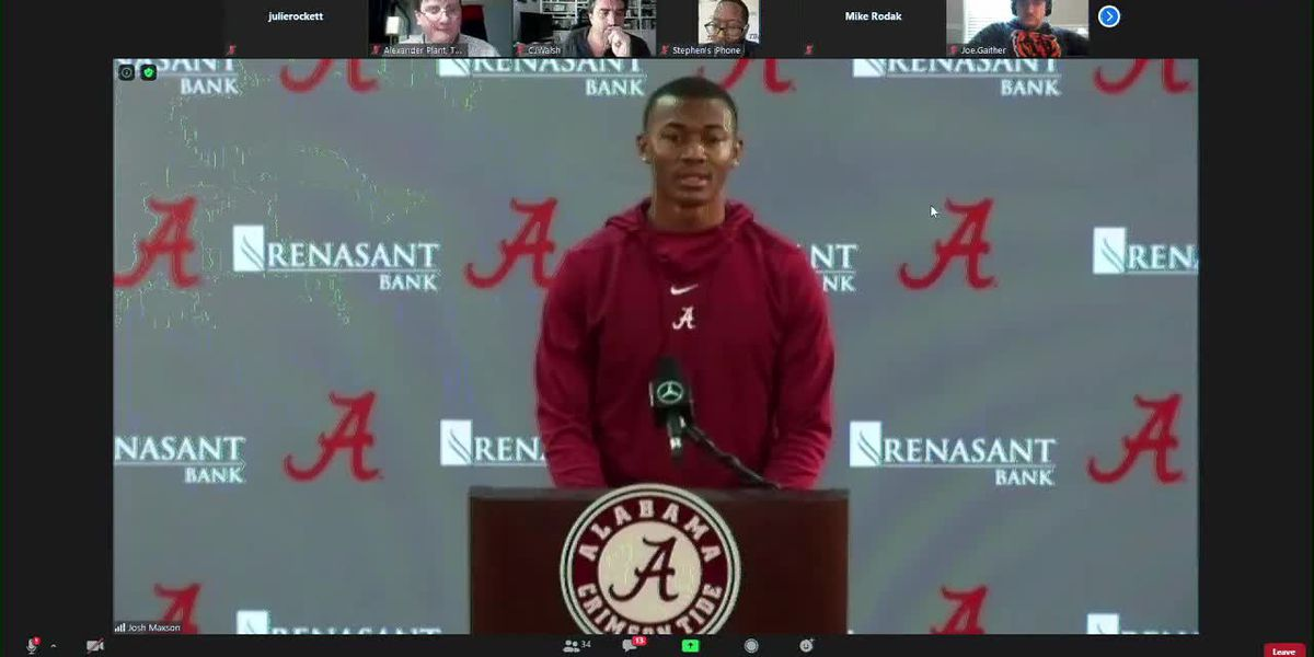 'I came back for a reason': Alabama players talk practice and COVID-19