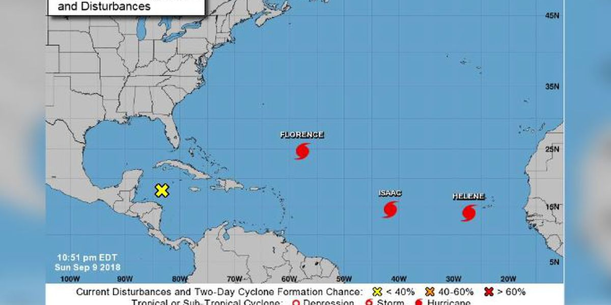Hurricane Florence Expected to Become Category 4, May Strike the Carolinas