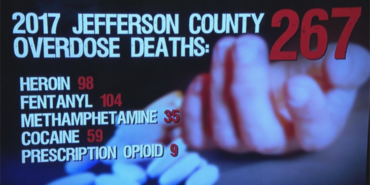 JeffCo coroner releases new number of drug-related deaths