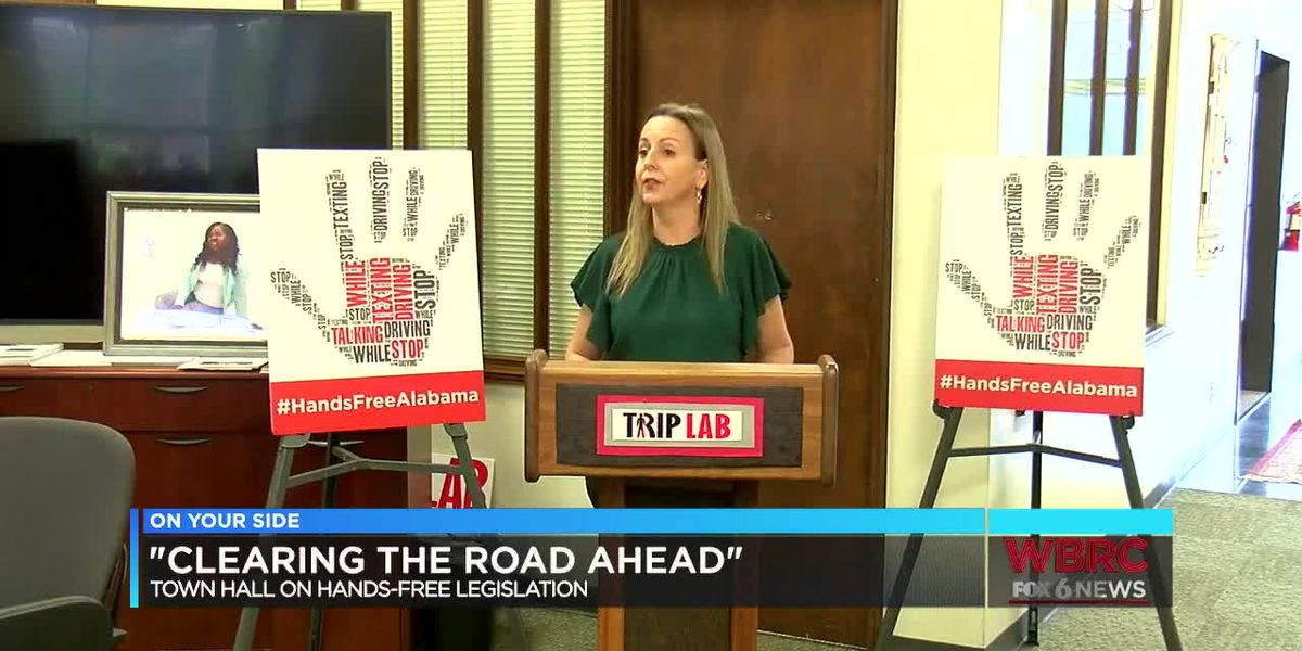 'Clearing the Road Ahead' town hall on hands-free driving legislation