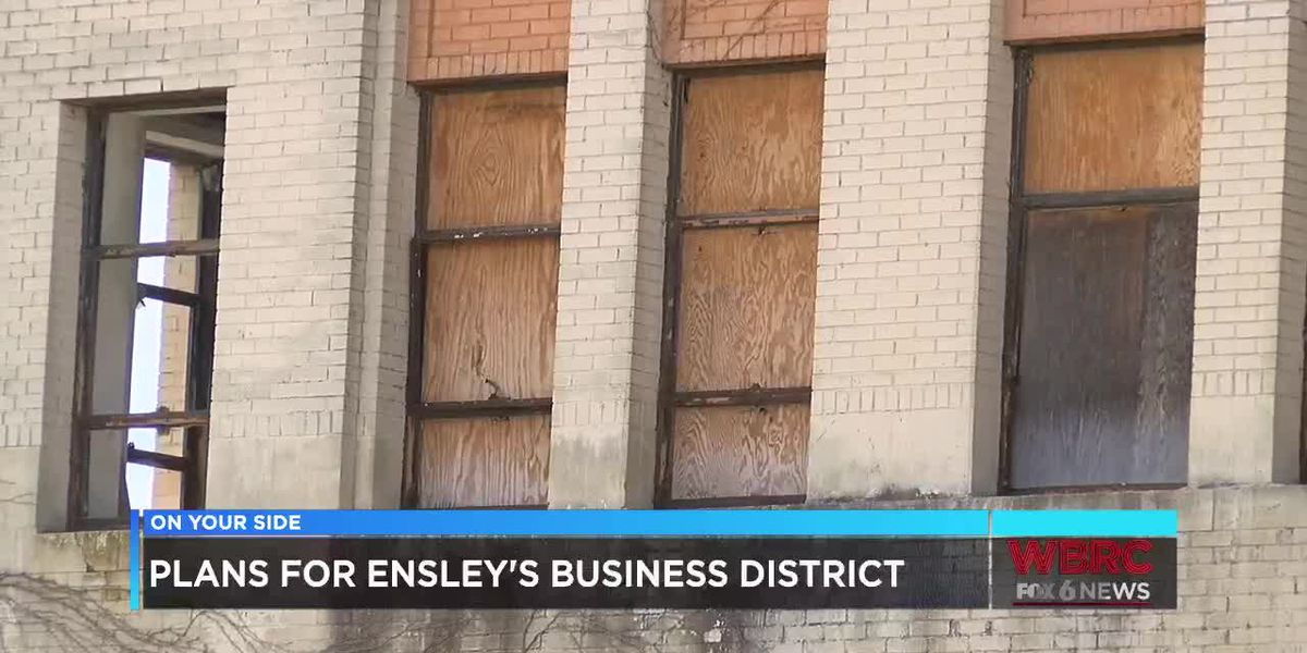 Plans for Ensley's business district
