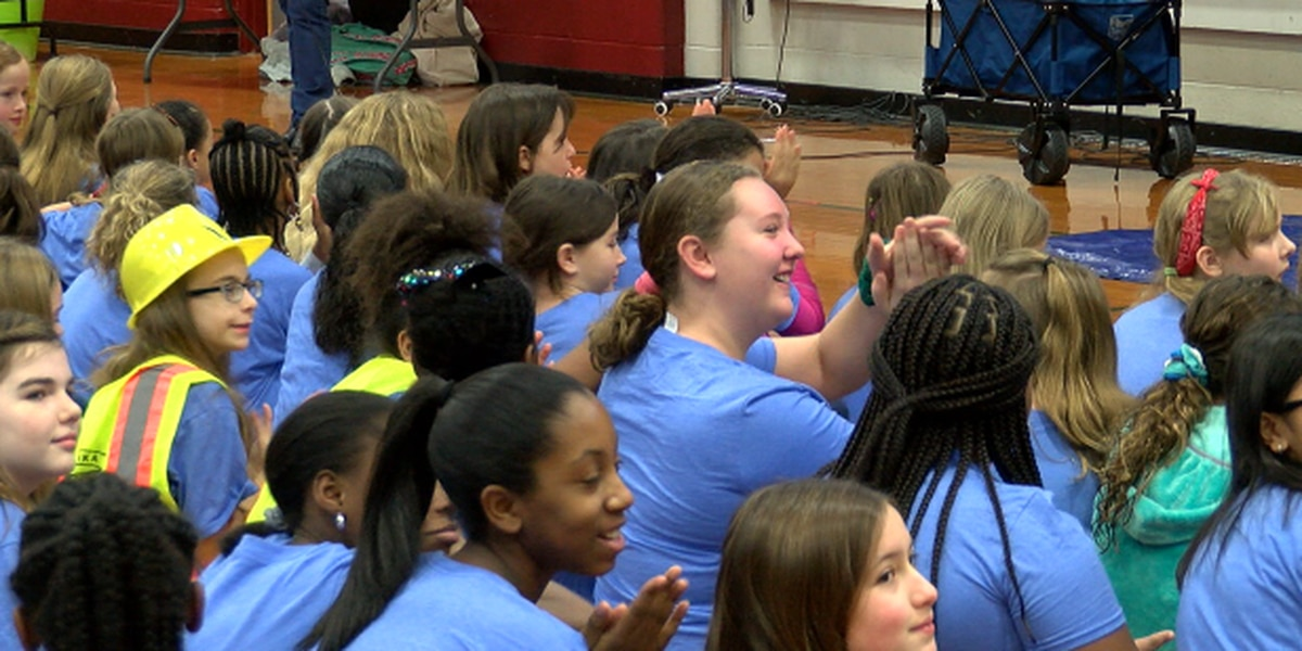 Program hopes to encourage more girls to choose S.T.E.M. fields