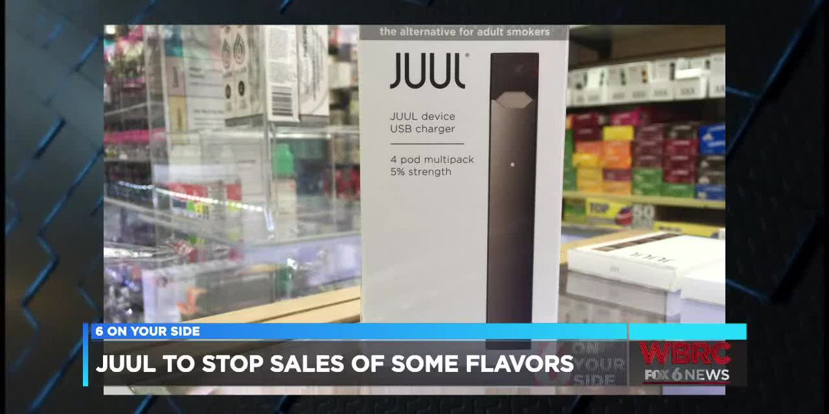 JUUL to stop sales of some e-cig flavors