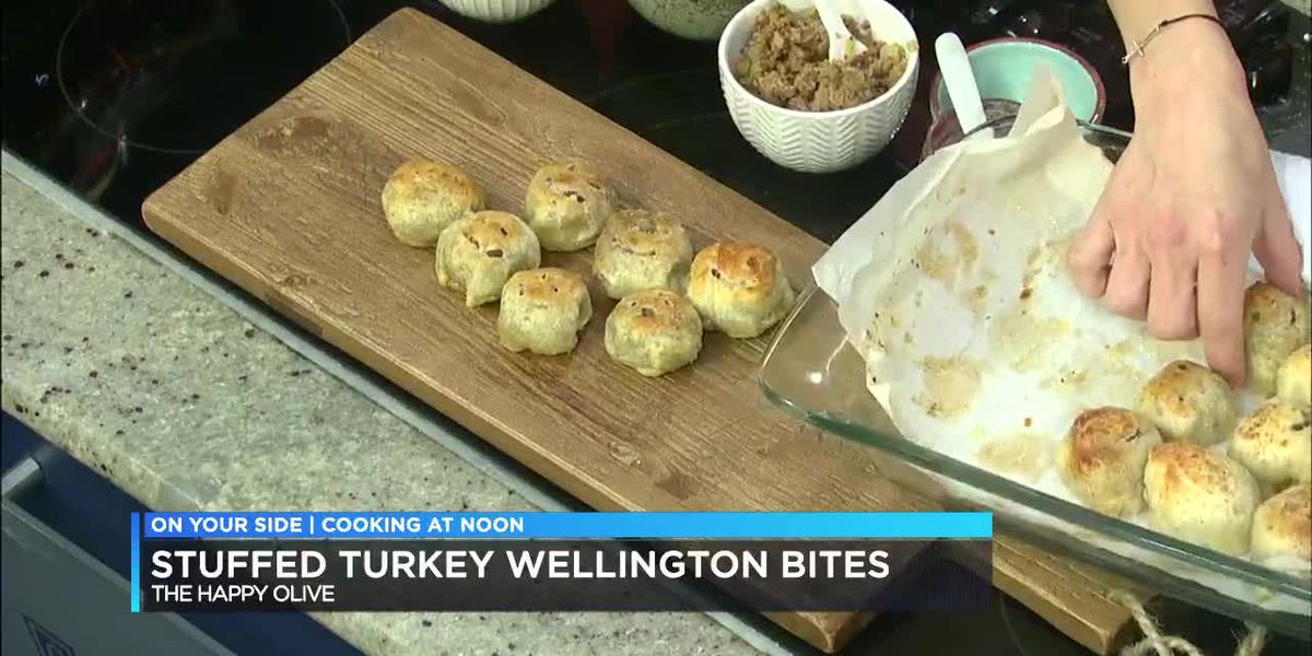 Stuffed Turkey Wellington Bites