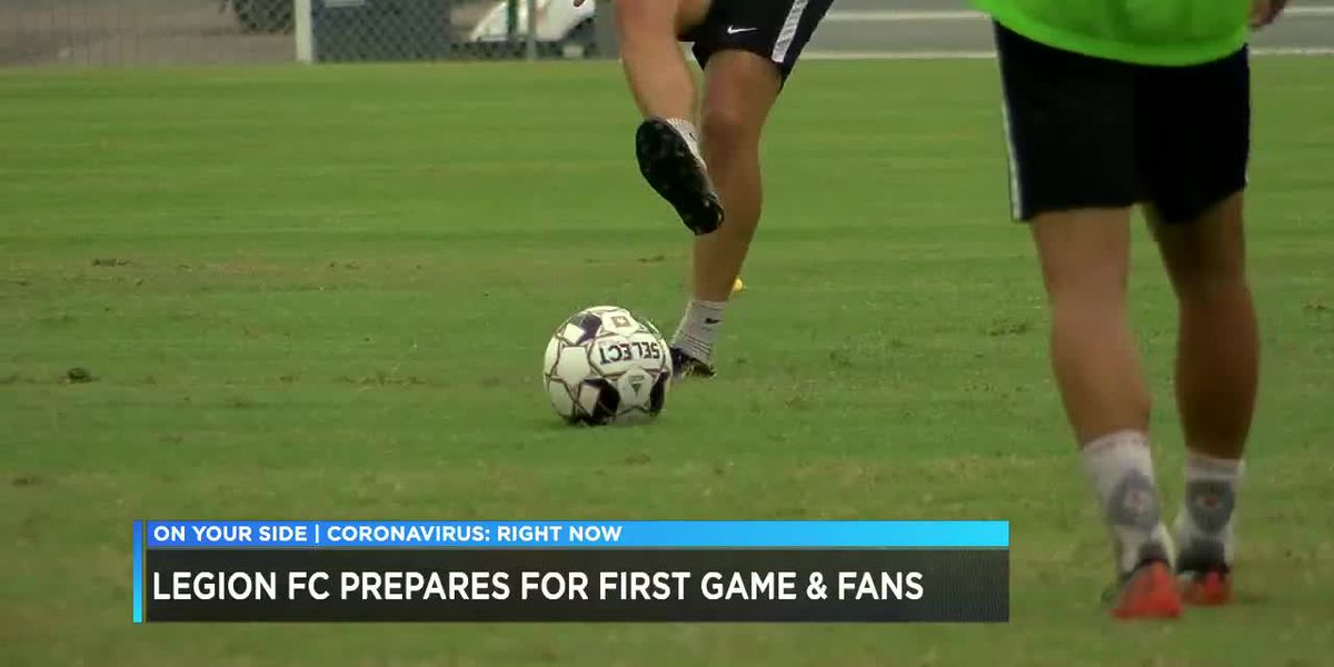 Legion FC prepares for first game, fans