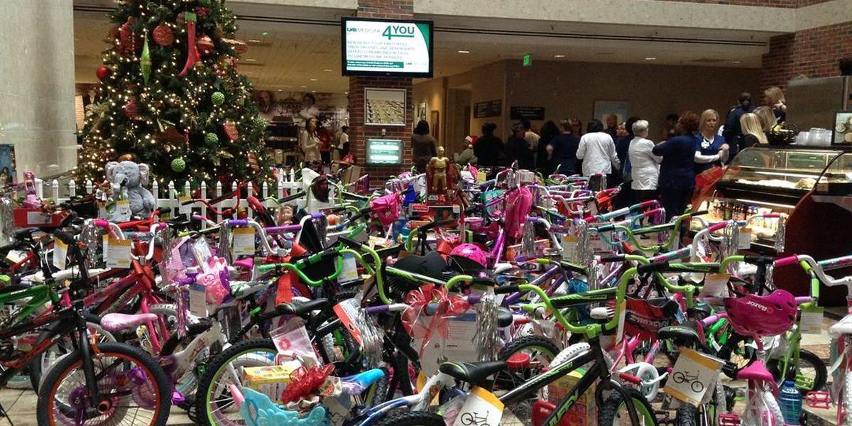 UAB Hospital employees donate dozens of bicycles