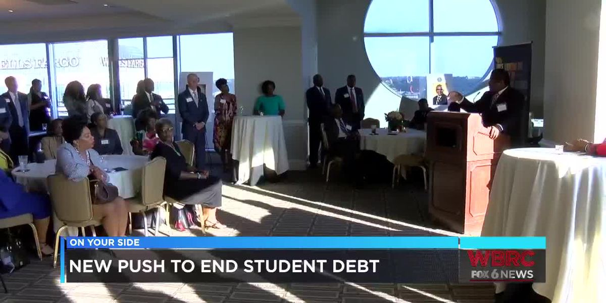 New push to end student debt