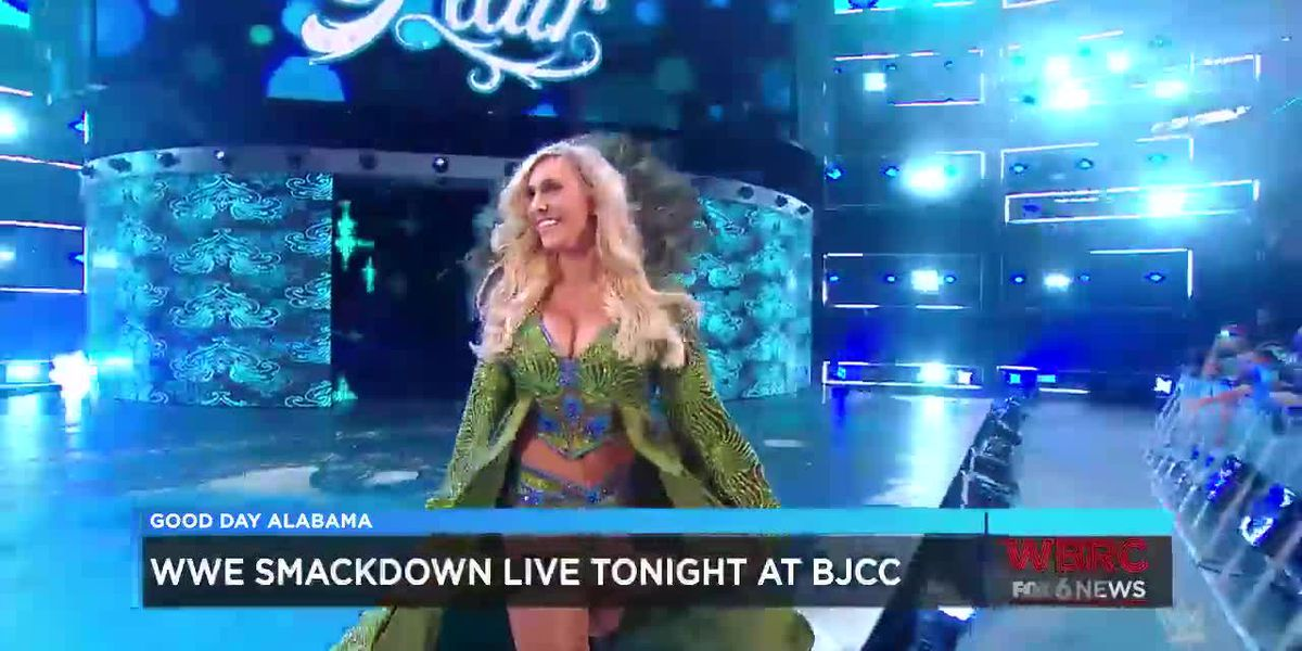 Charlotte Flair at the WWE Smackdown Live at the BJCC