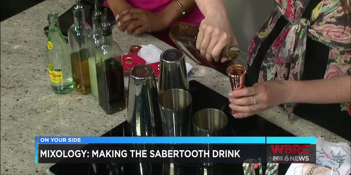 Mixology: Sabertooth Drink