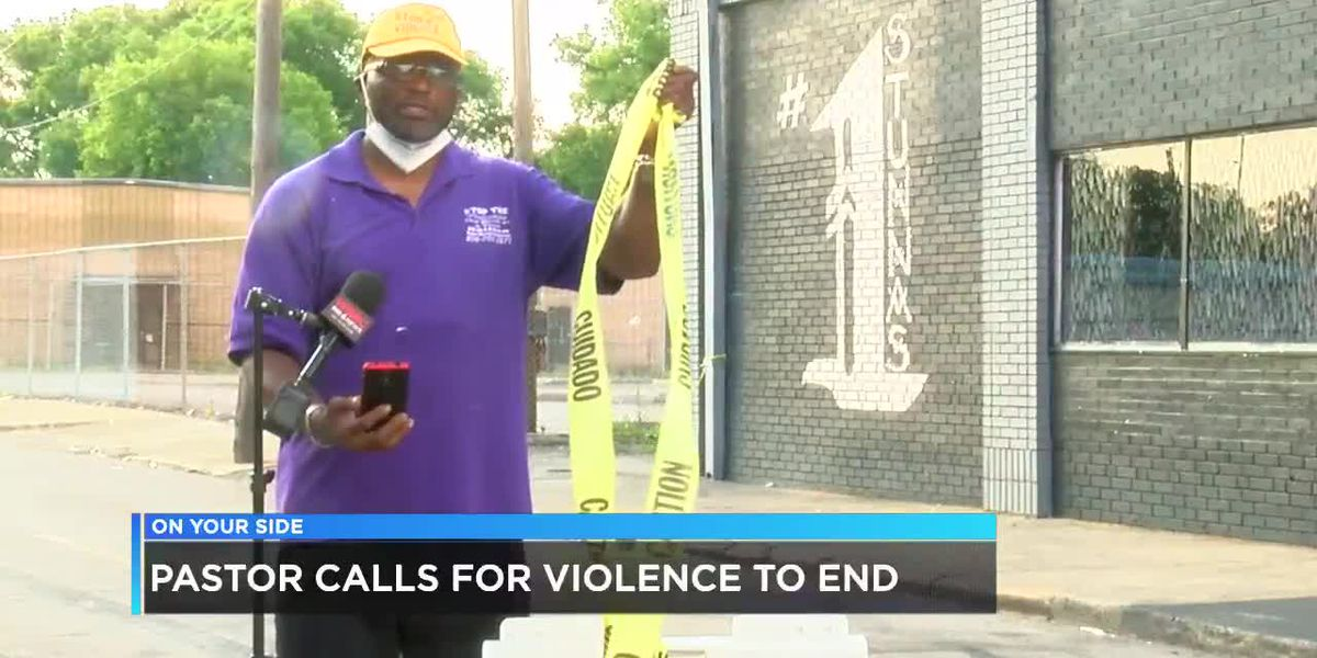 Pastor calls for an end to the violence