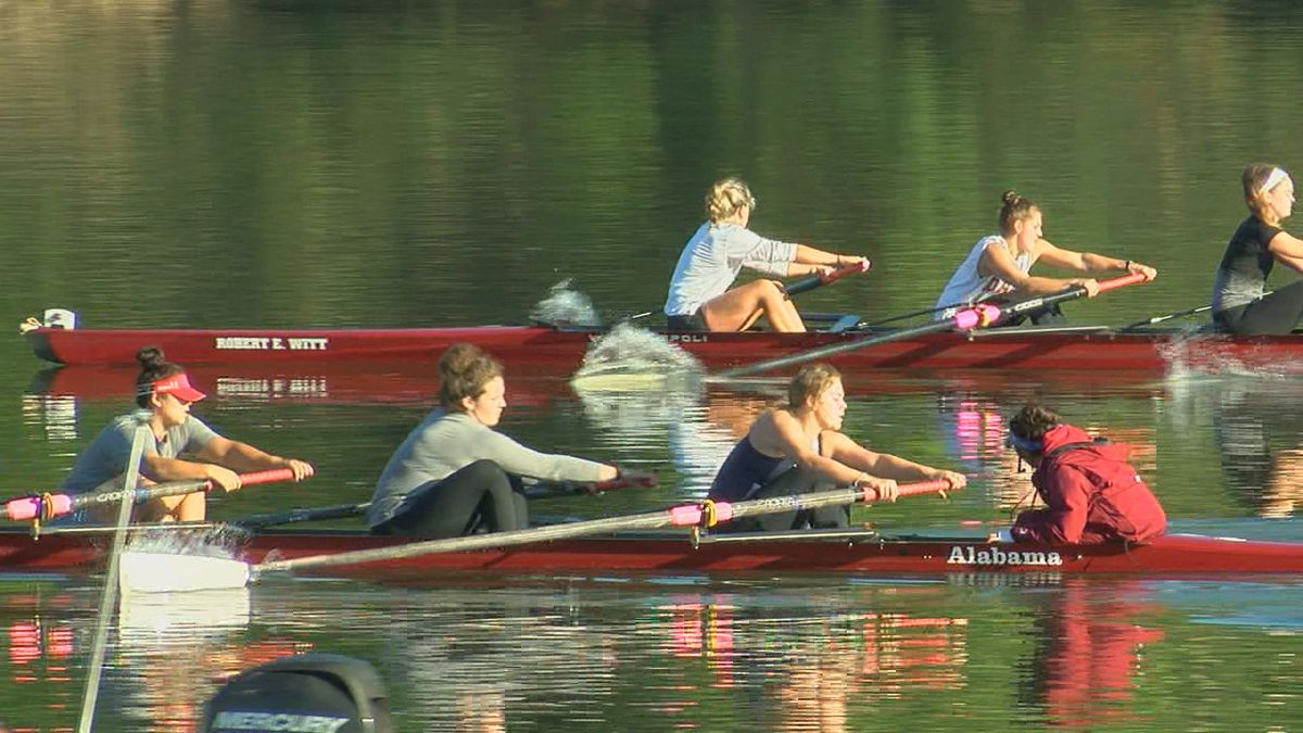 Alabama rowing makes history, ranked nationally for first time