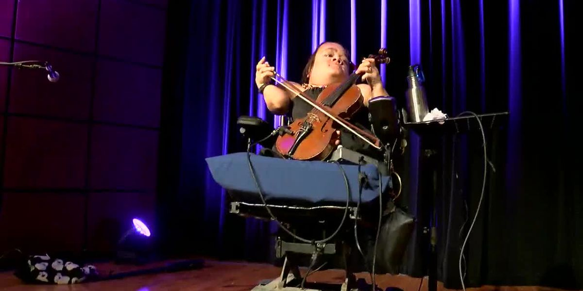 It's all about the music for Gaelynn Lea