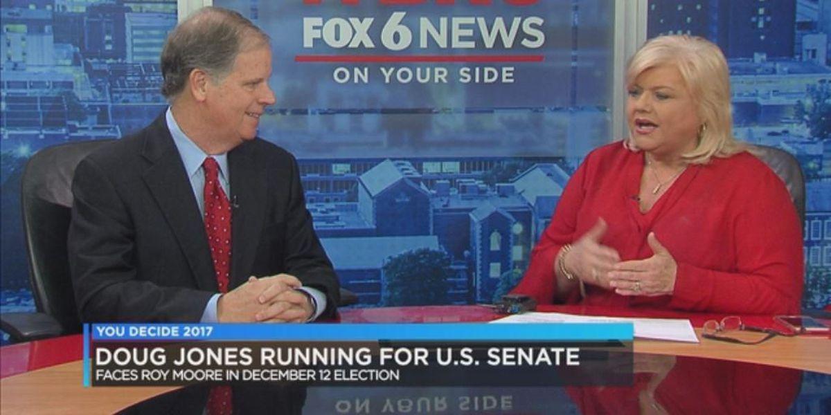Doug Jones on U.S. Senate race